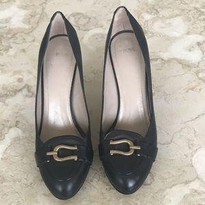 Hugo Boss Black Leather Heels